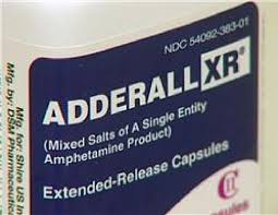 Adderall big label